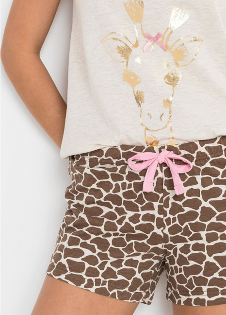 Giraffe Print Shorty