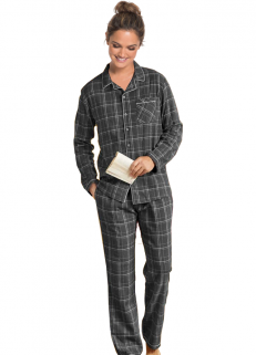 Grey Checked Pyjamas women