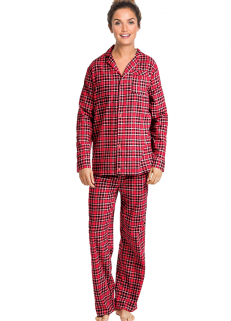 Flannel Red Checked Pjs