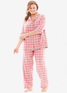 Flannel Redish Checked Pjs